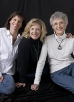Friends of the Heart: Janine Boyer, Shirley Brosius, Kim Messinger